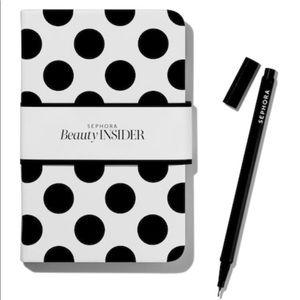 Sephora Beauty Insider Notebook